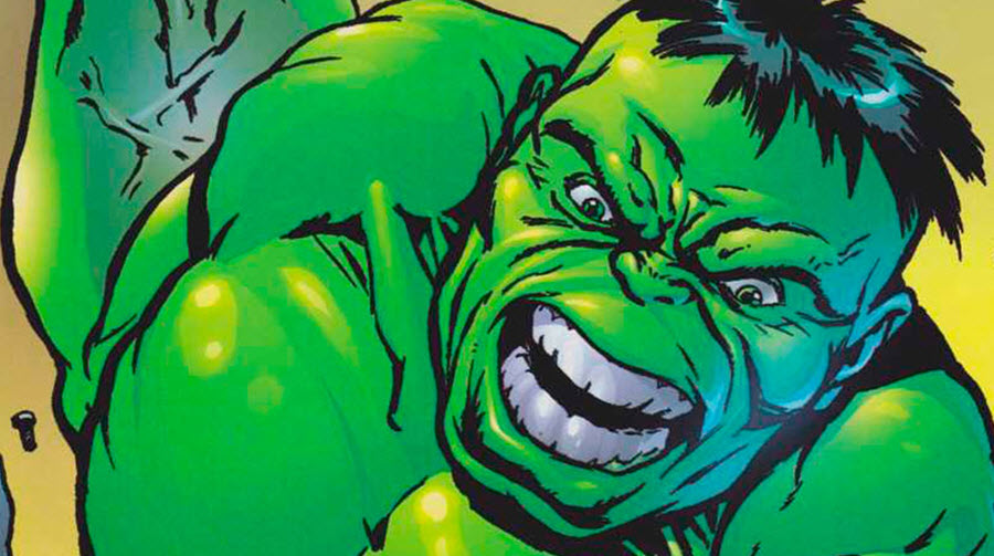 the hulk closeup